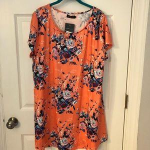 Women's peach tunic
